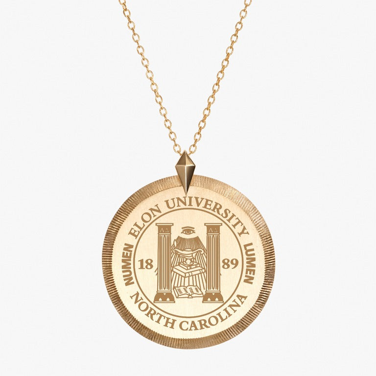Gold Elon Florentine Necklace