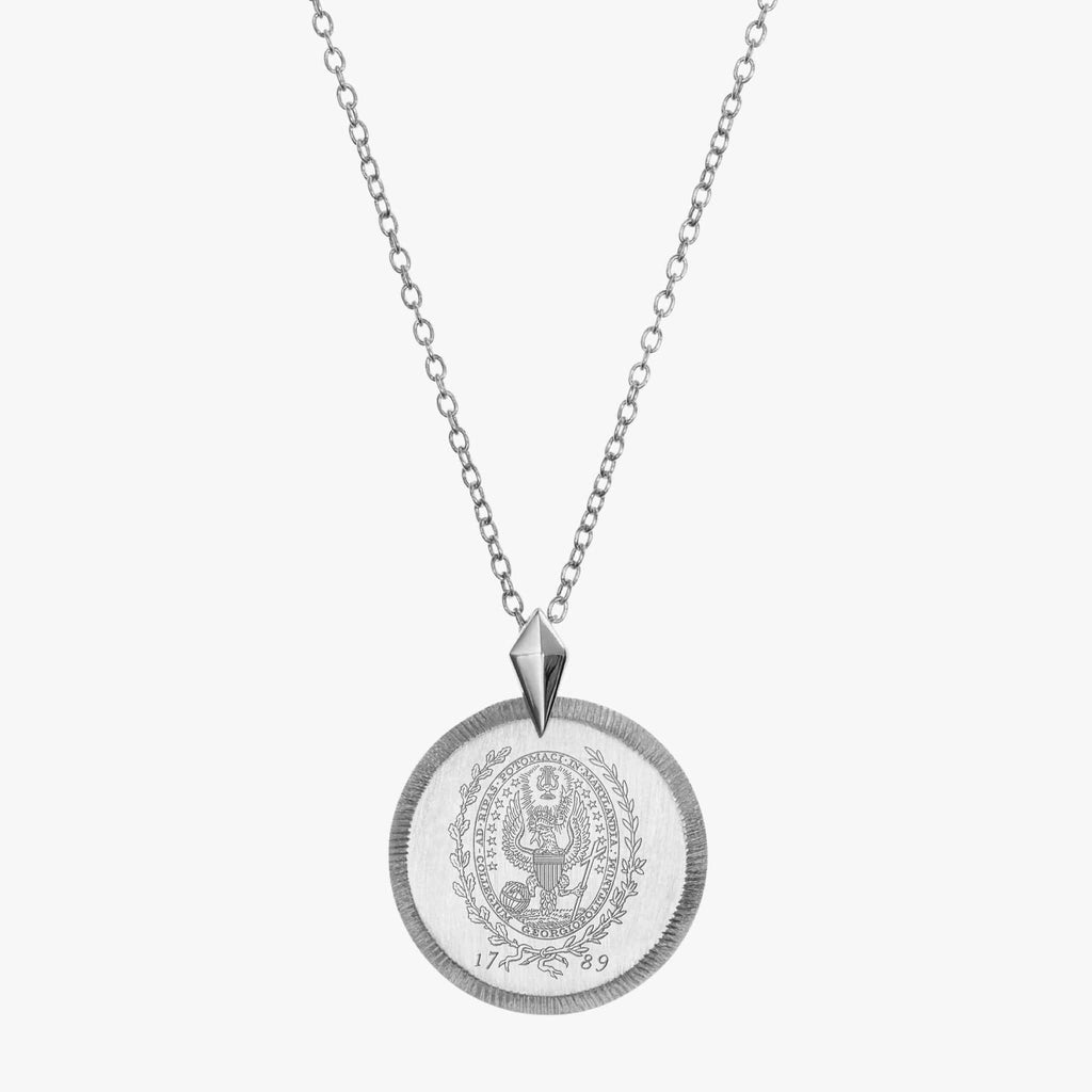 Georgetown Florentine Necklace Petite Sterling Silver