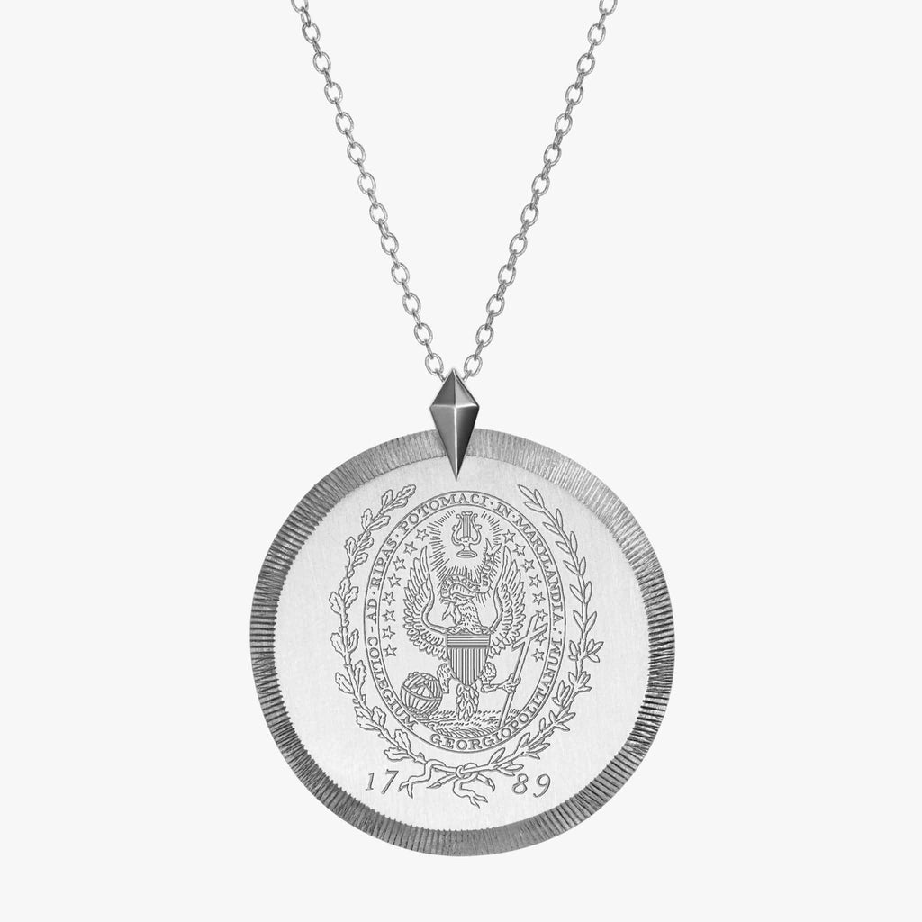 Georgetown Florentine Necklace Sterling Silver