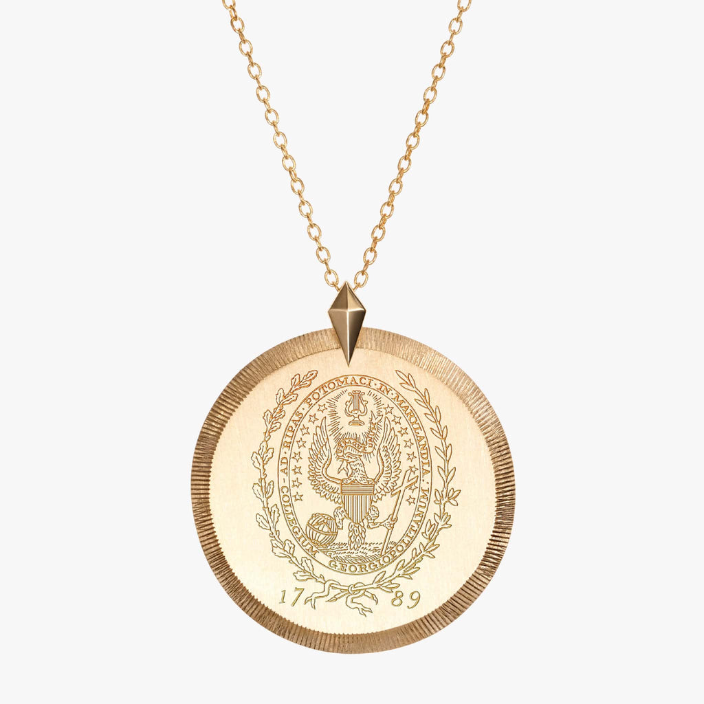 Georgetown Florentine Necklace Gold