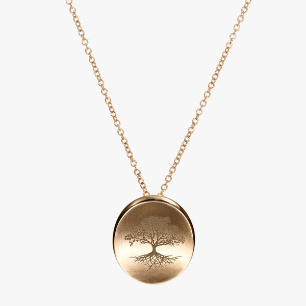 Gold Organic Necklace
