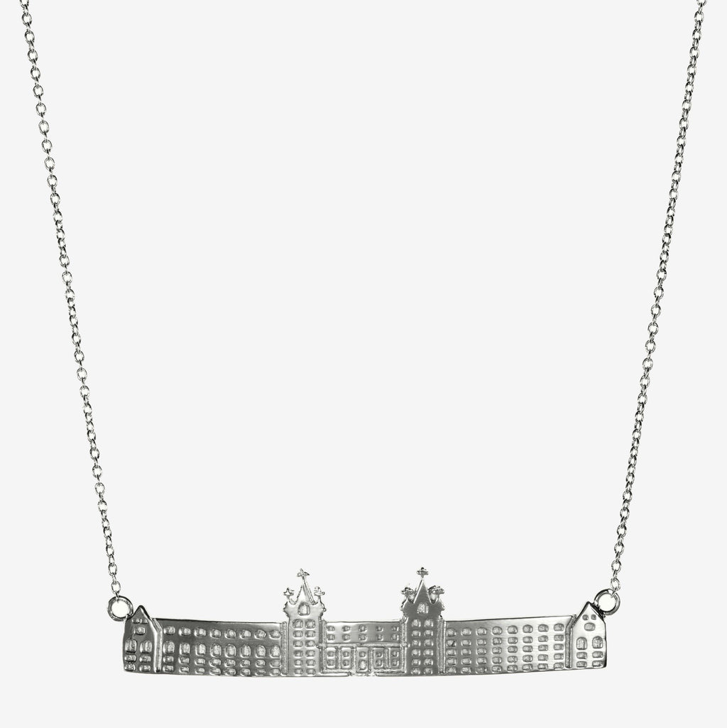 Silver Holy Cross Fenwick Hall Necklace