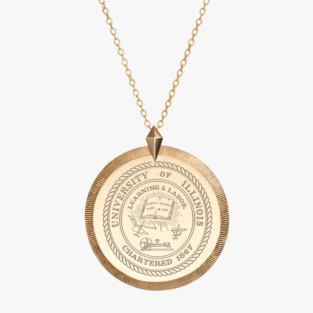Illinois Florentine Necklace Gold
