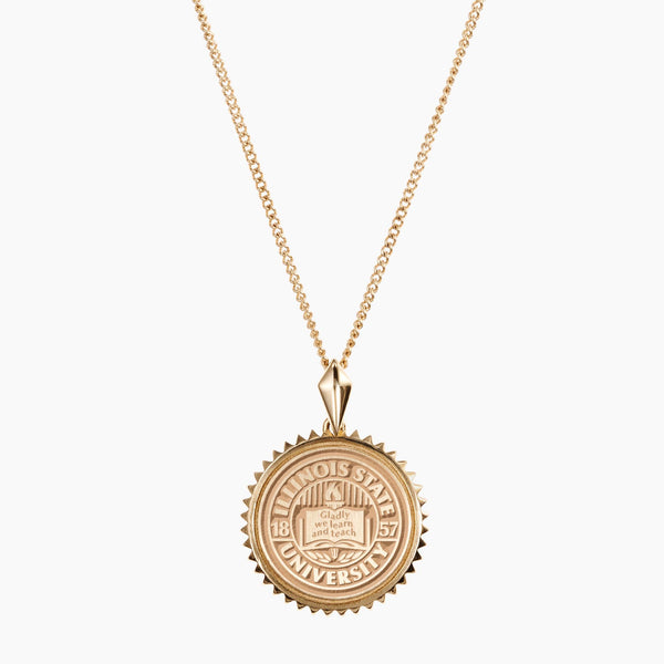 Illinois State Sunburst Necklace