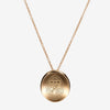 Gold John Hopkins Organic Necklace