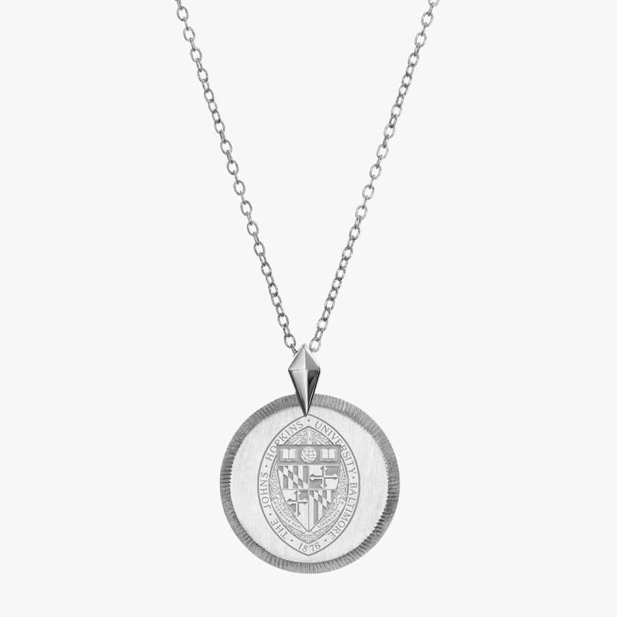 Silver John Hopkins Florentine Necklace Petite