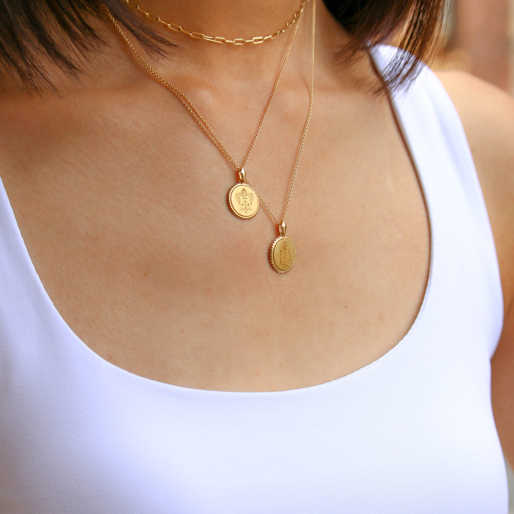 Kappa Alpha Theta Sunburst Necklace- EXCLUSIVE 150 ANNIVERSARY COLLECTION