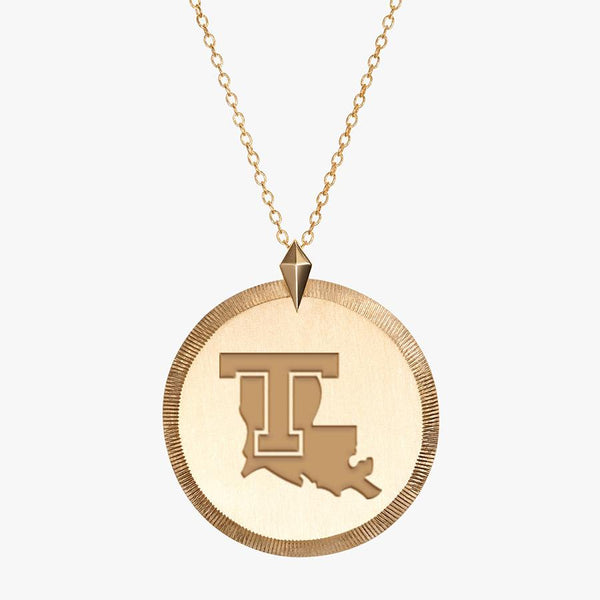 Gold LA Tech Florentine Necklace