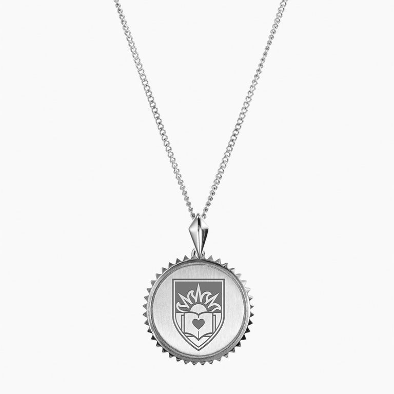 Silver Lehigh Sunburst Necklace