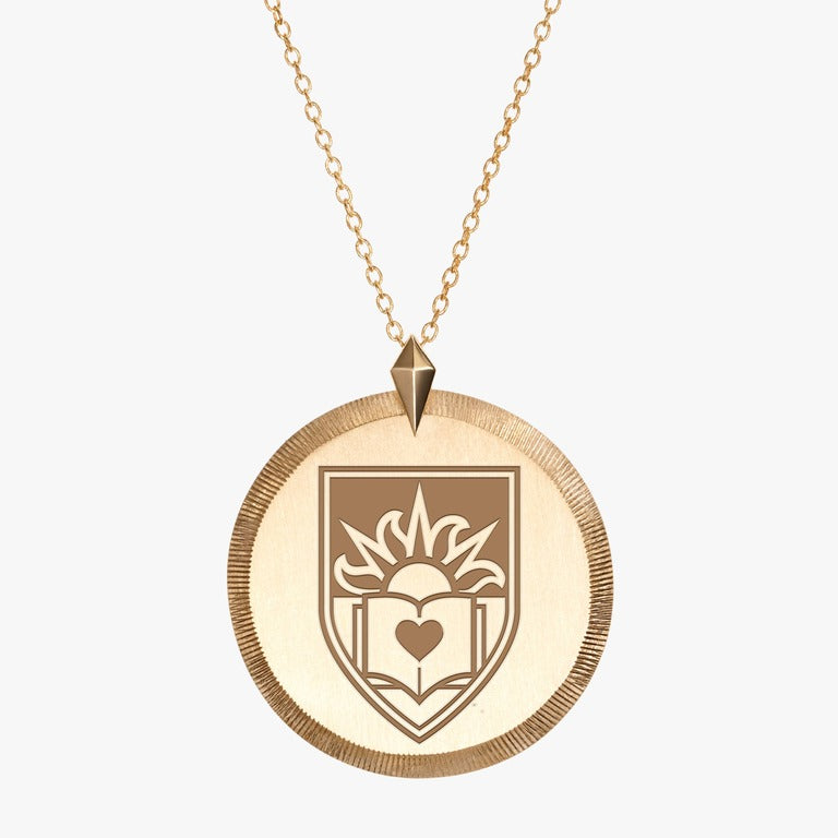 Gold Lehigh Florentine Necklace