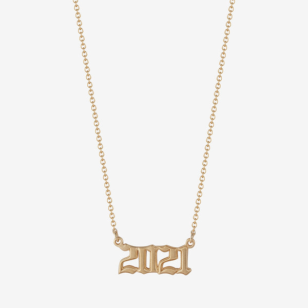 *new* 2021 Nameplate Necklace