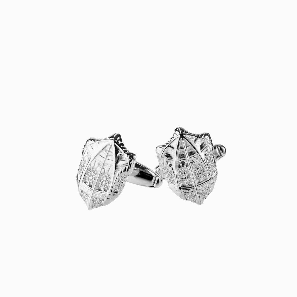 Silver Fisher Library Cufflinks