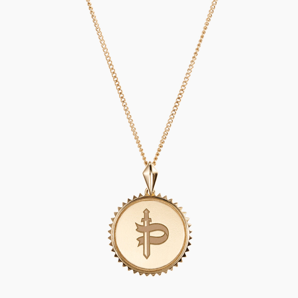 Pace Academy Sunburst Necklace Gold