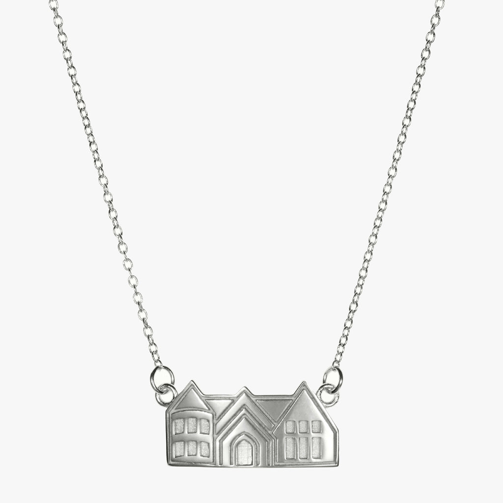 Pace Academy Necklace Sterling Silver