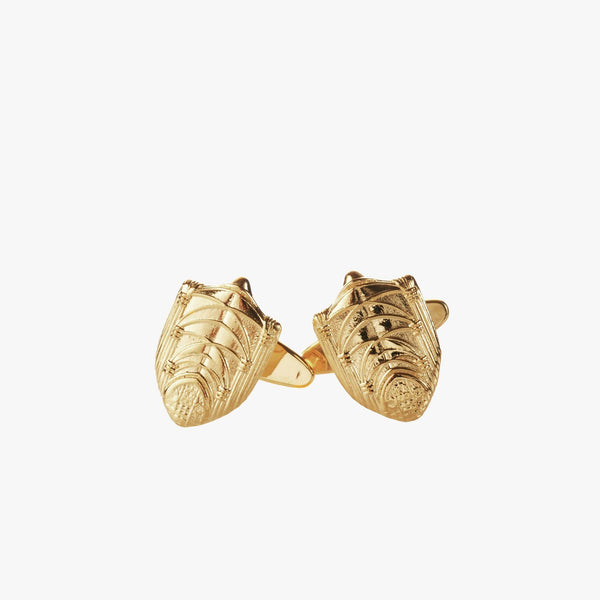 Gold Princeton Chapel Cufflinks