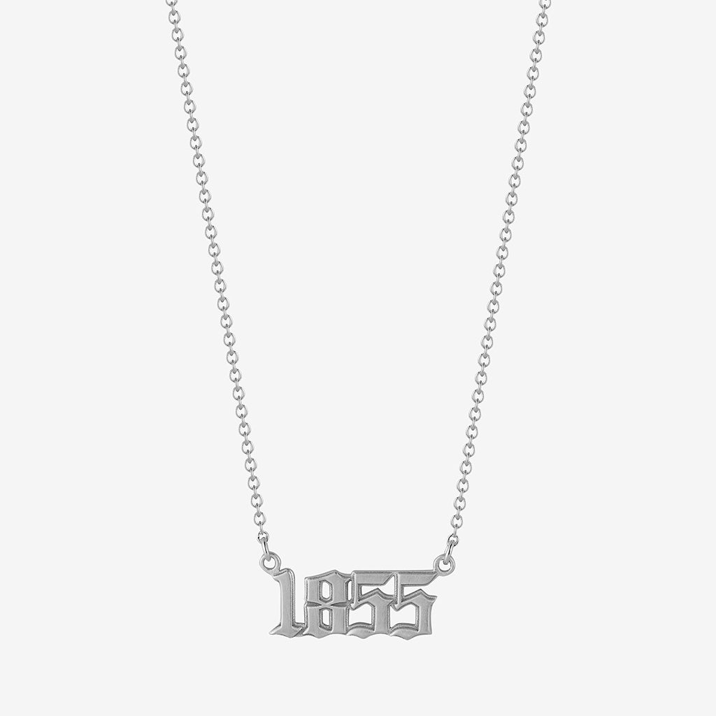 1855 Founding Year Necklace