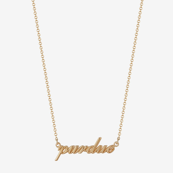 *new* Purdue Necklace