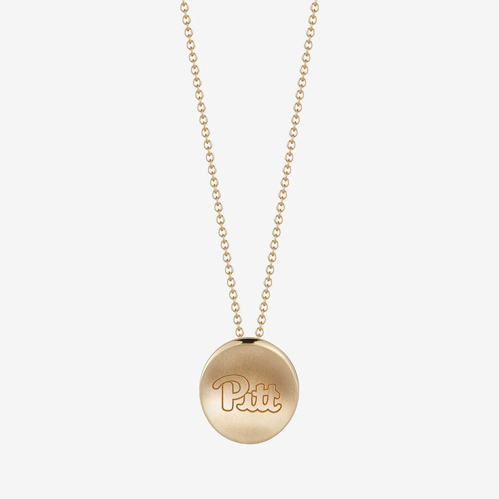 Pitt Script Necklace