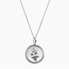 Sterling Silver Sigma Delta Tau Sunburst Torch Necklace