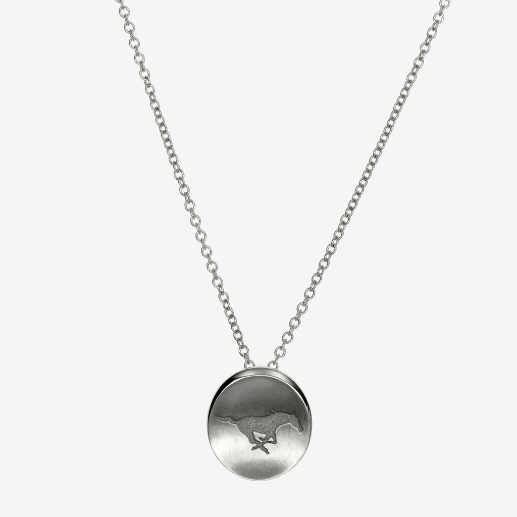 Silver SMU Peruna Necklace