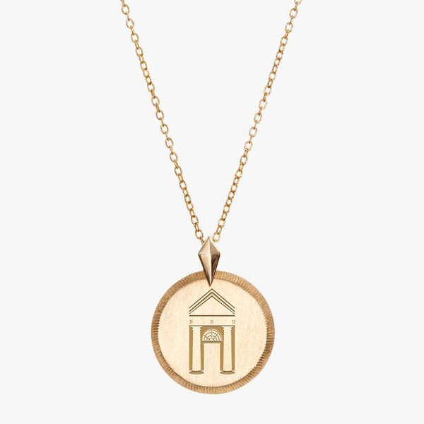 Gold Spelman Florentine Necklace Petite