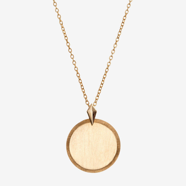 Gold Florentine Necklace Petite