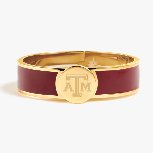 Texas A&M Enamel Bracelet