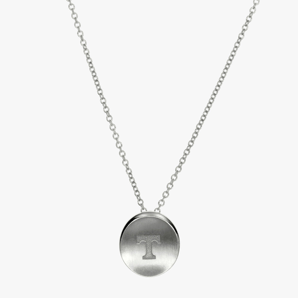 tennessee t necklace silver