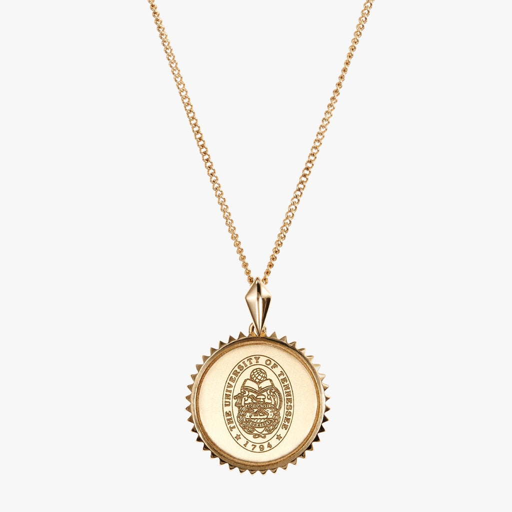 Tennessee Sunburst Necklace Gold