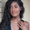 Nia Franklin wearing the Miss America Organic Necklace