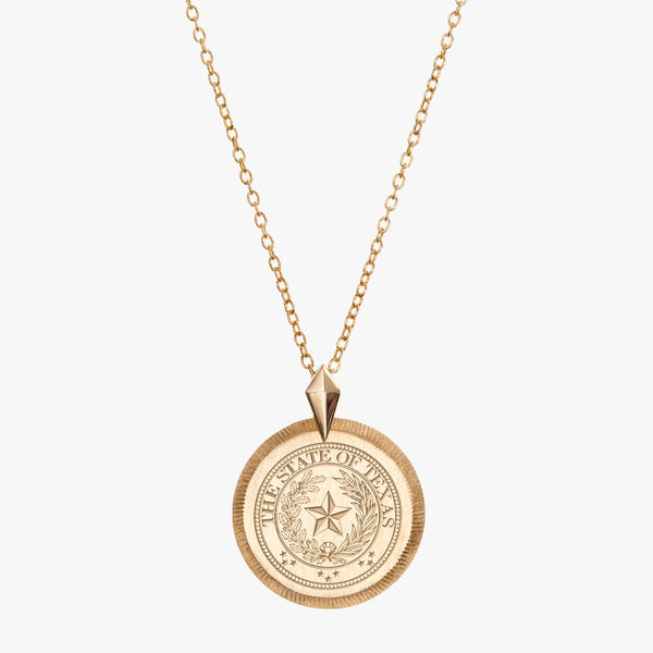 The Seal of Texas Necklace