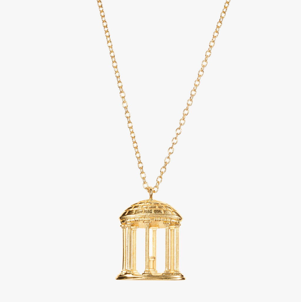 Gold UNC Old Well Necklace