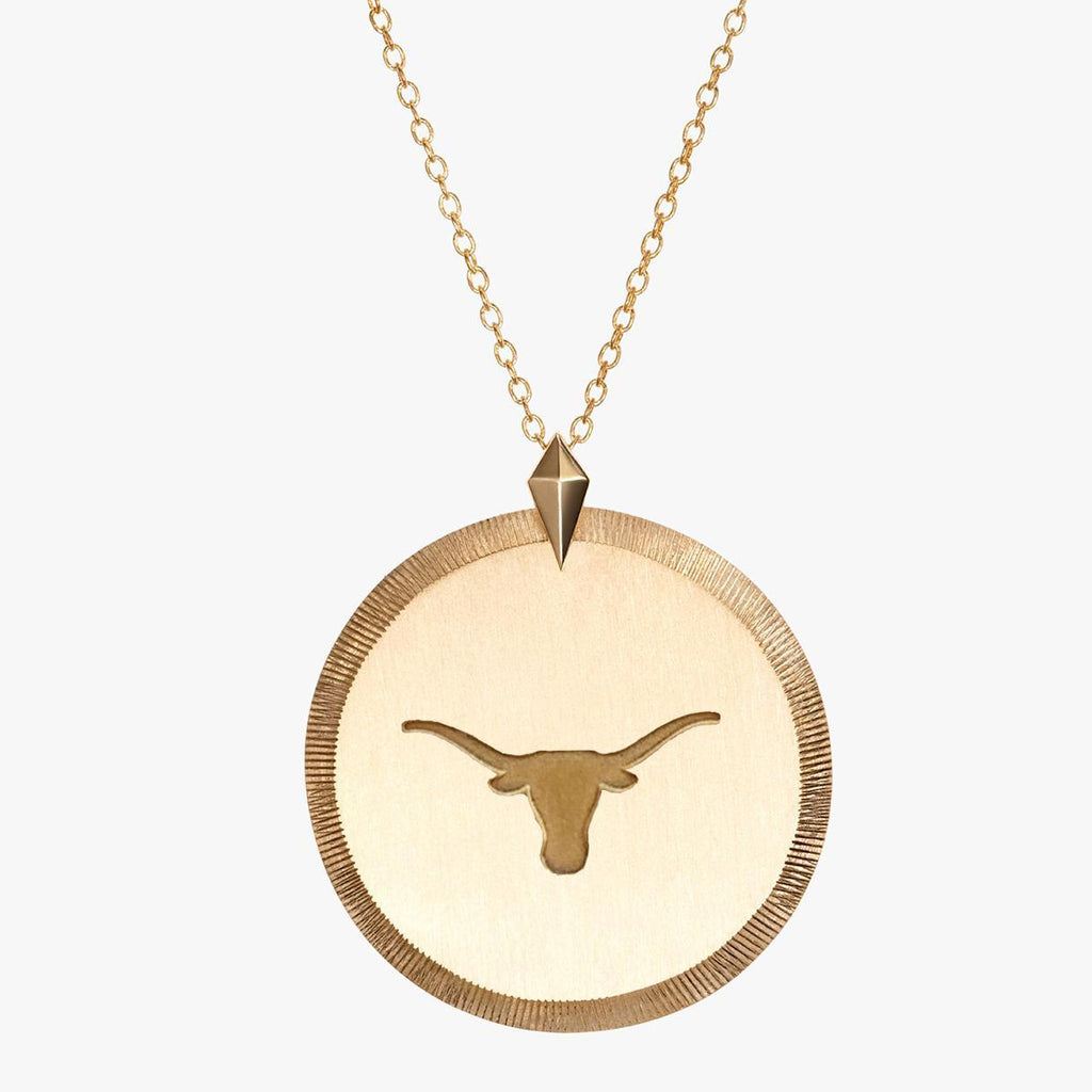 UT Longhorns Florentine Necklace