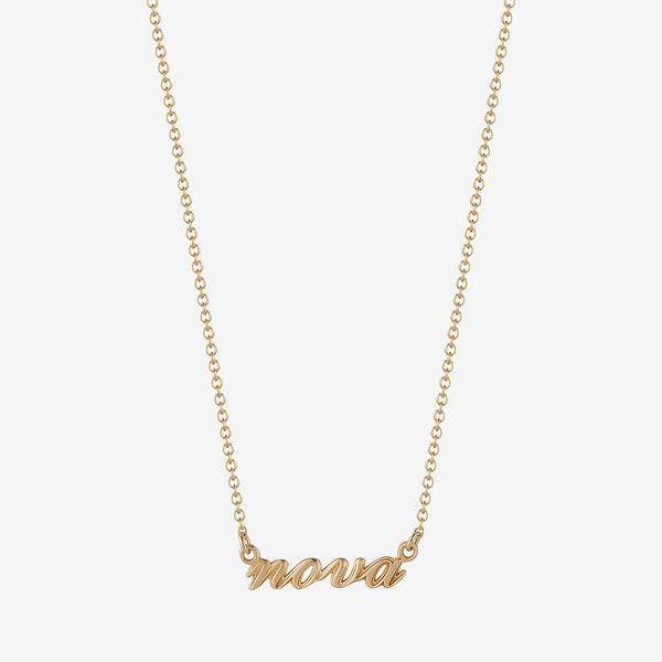 *new* Nova Nameplate Necklace