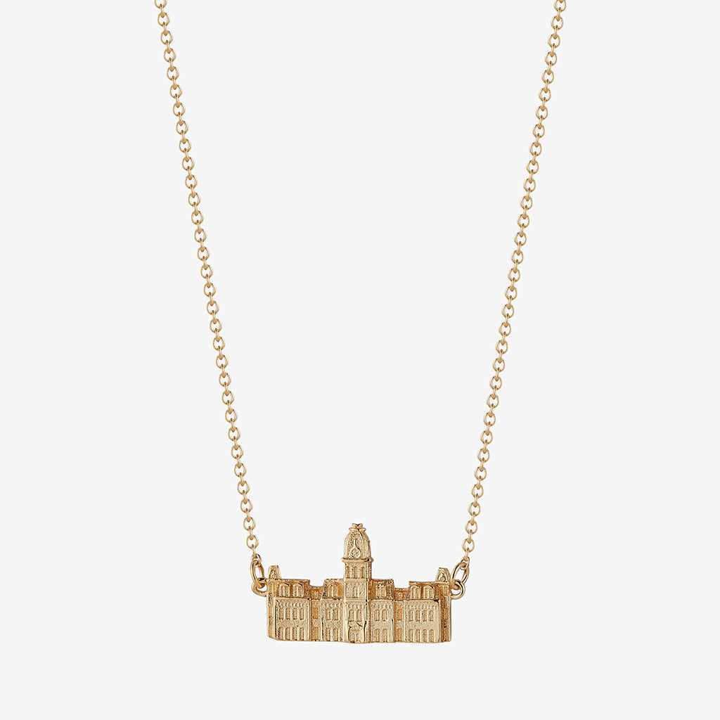 West Virginia Woodburn Hall Necklace