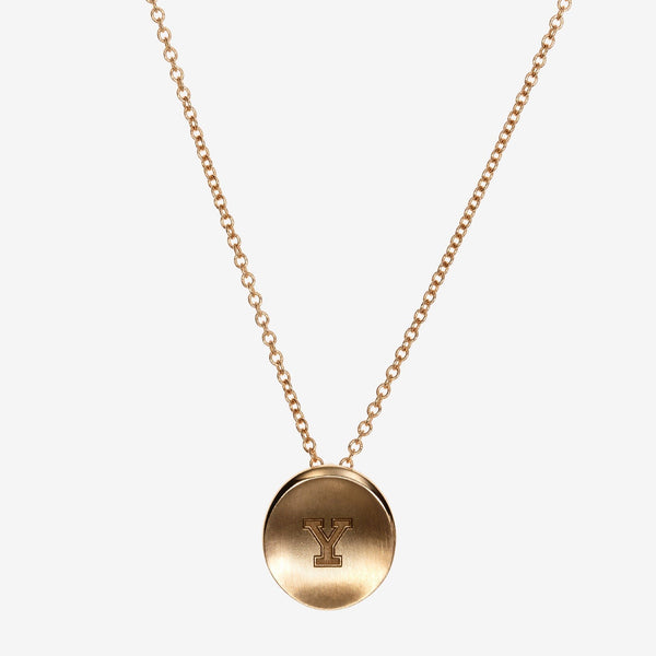 Gold Yale Y Necklace