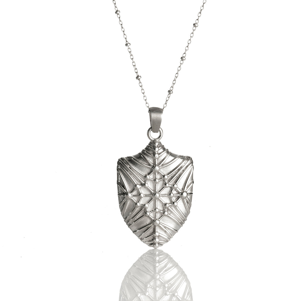 Yale Sterling Memorial Library Necklace