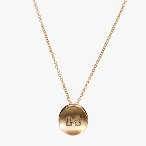 Michigan M Organic Petite Necklace