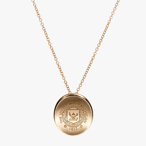 Michigan Crest Organic Necklace