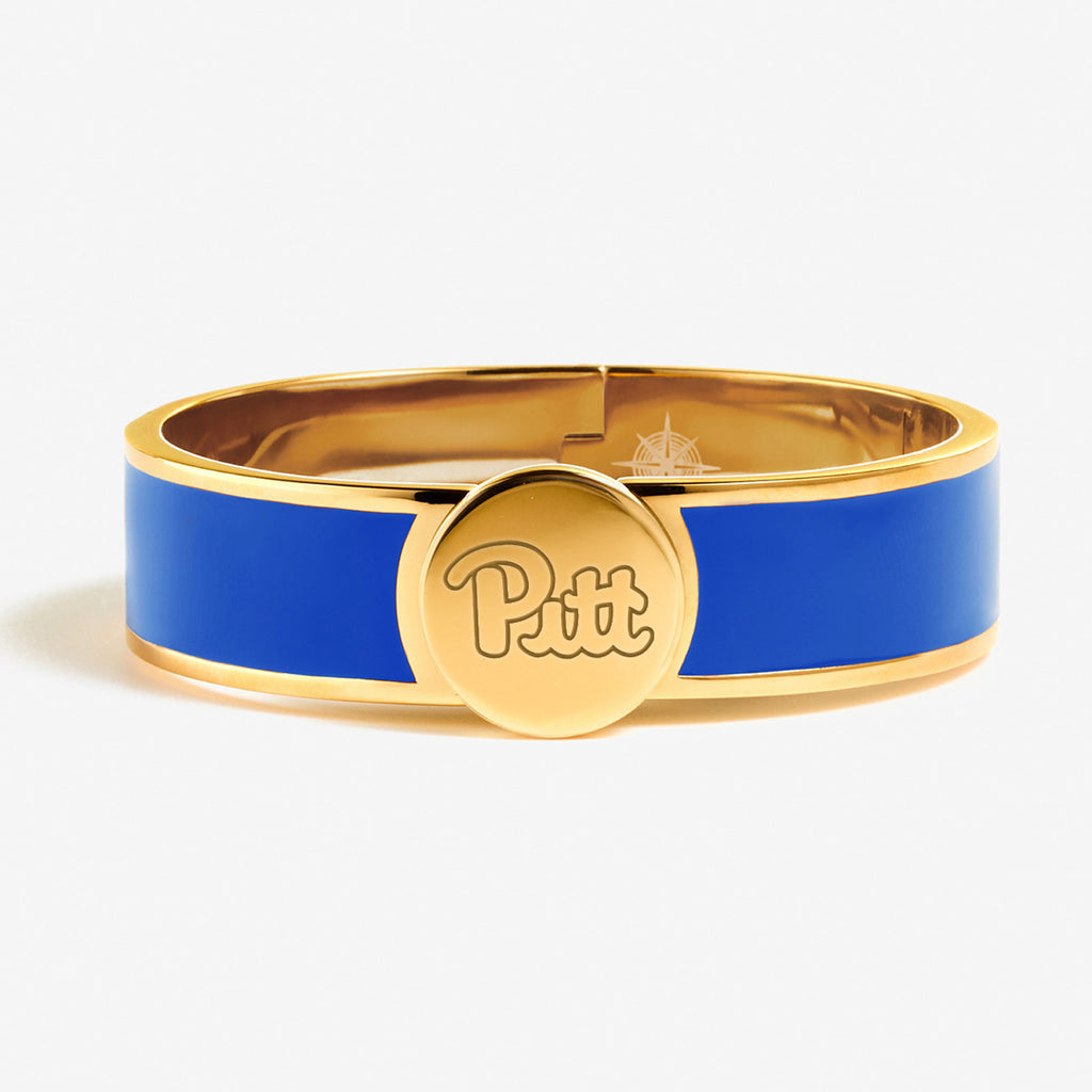 Pitt Enamel Bracelet - Royal Blue