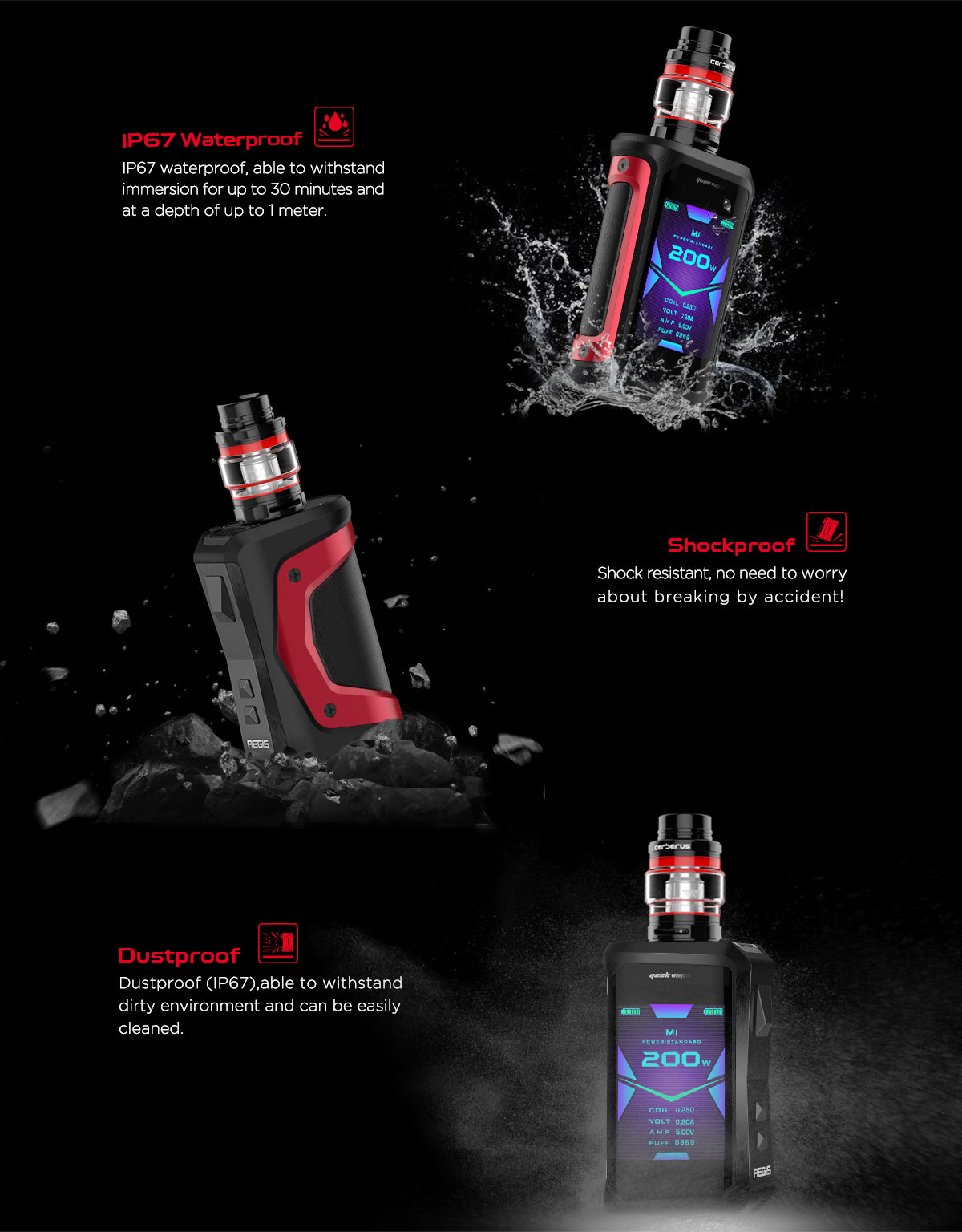 Aegis X Box Mod By Geek Vape