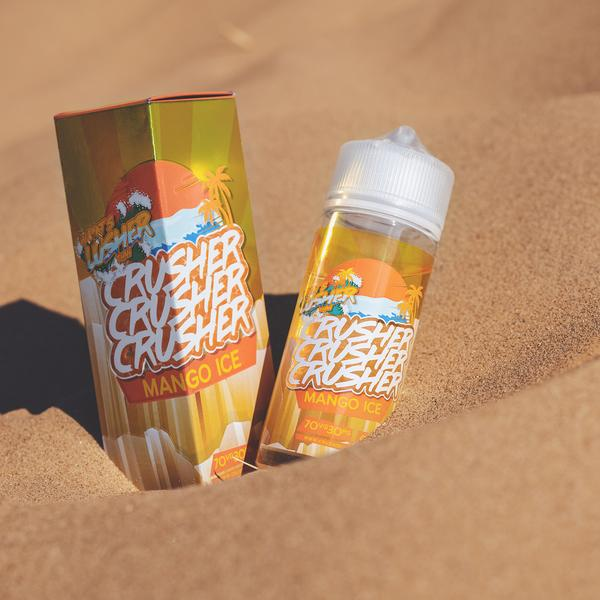 Mango Ice Crusher 100ml E-Liquid Dragon Vapour
