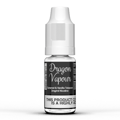 Caramel & Vanilla Tobacco by Dragon Vapour 10ml E Liquids - Dragon Vapour