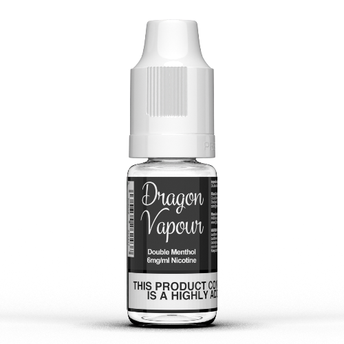 Double Menthol by Dragon Vapour 10ml E Liquids - Dragon Vapour