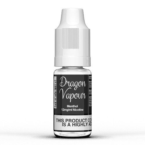 Menthol by Dragon Vapour 10ml E Liquids - Dragon Vapour