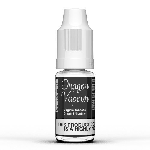 Virginia Tobacco by Dragon Vapour 10ml E Liquids - Dragon Vapour