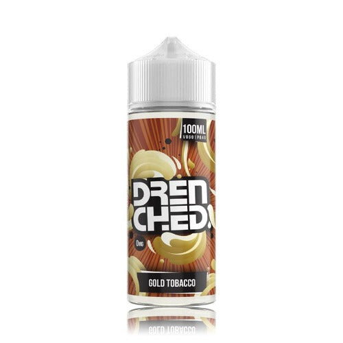 Gold Tobacco Drenched 100ml - Dragon Vapour