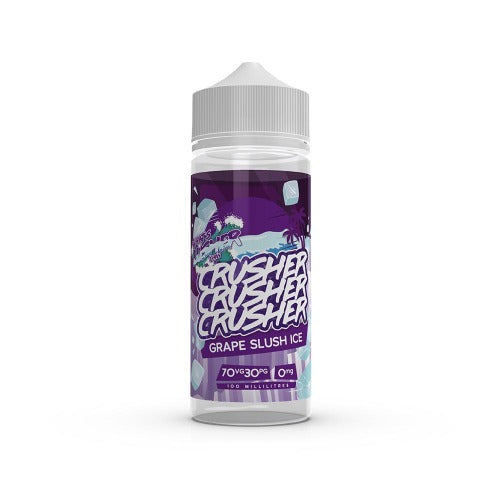 Grape Slush Ice - Crusher 100ml E-Liquid - Dragon Vapour