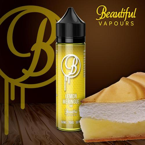 Lemon Meringue - Beautiful Vapours 50ml E-Liquid - Dragon Vapour