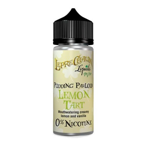 Leprechaun Pudding Parlour 100ml ( 2 x 18mg Nic Shots Included) - Dragon Vapour